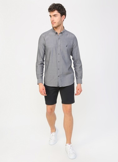 Nautica Gömlek Siyah